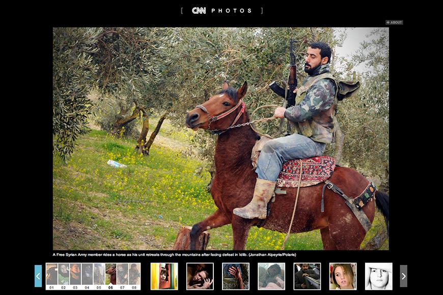 In Syrië ontvoerde fotograaf vrijgelaten