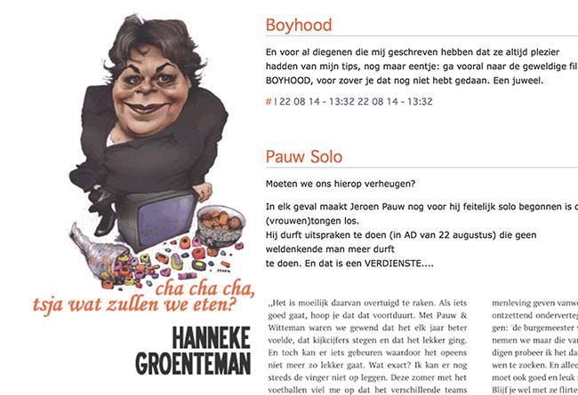 Hanneke Groenteman moet dokken na foto-claim