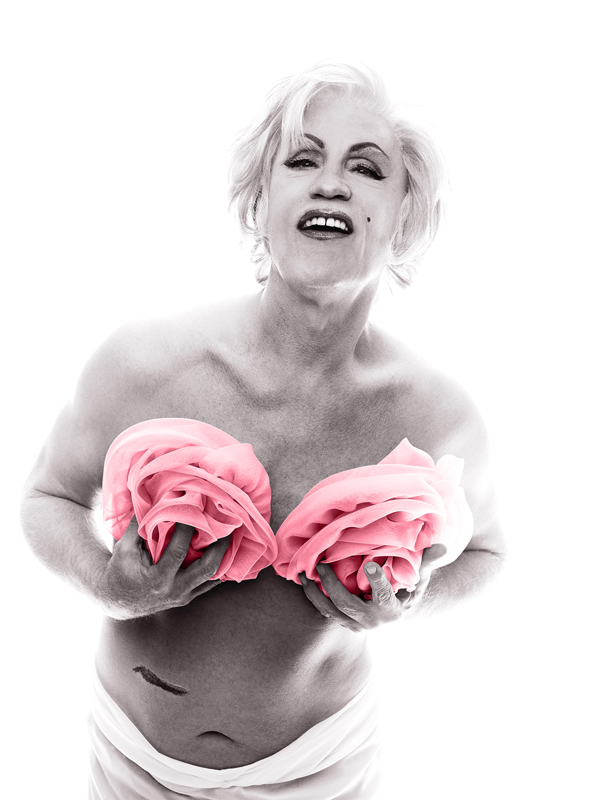 Sandro Miller, Bert Stern / Marilyn in Pink Roses (from The Last Session, 1962), 2014 From the Malkovich, Malkovich, Malkovich - Homage to photographic masters series