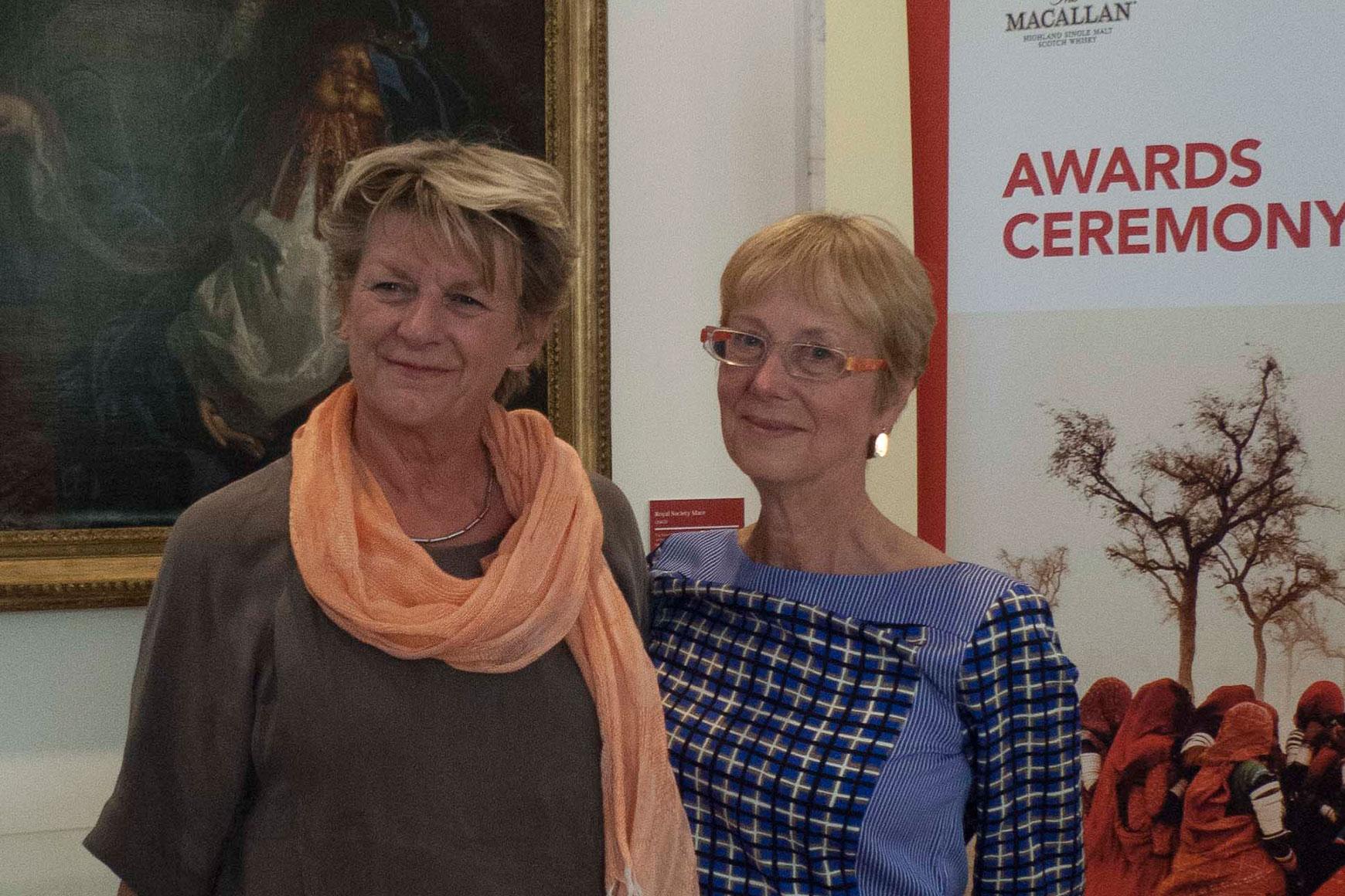 Corinne Noordenbos en Anne Braybon - Foto Lotte Sprengers