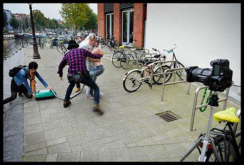 Fotoshoot Amsterdam door Photographer Hal / Foto Sake Rijpkema / Hollandse Hoogte