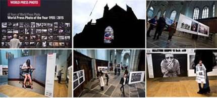 Bezoekersrecord voor World Press Photo in Nieuwe Kerk