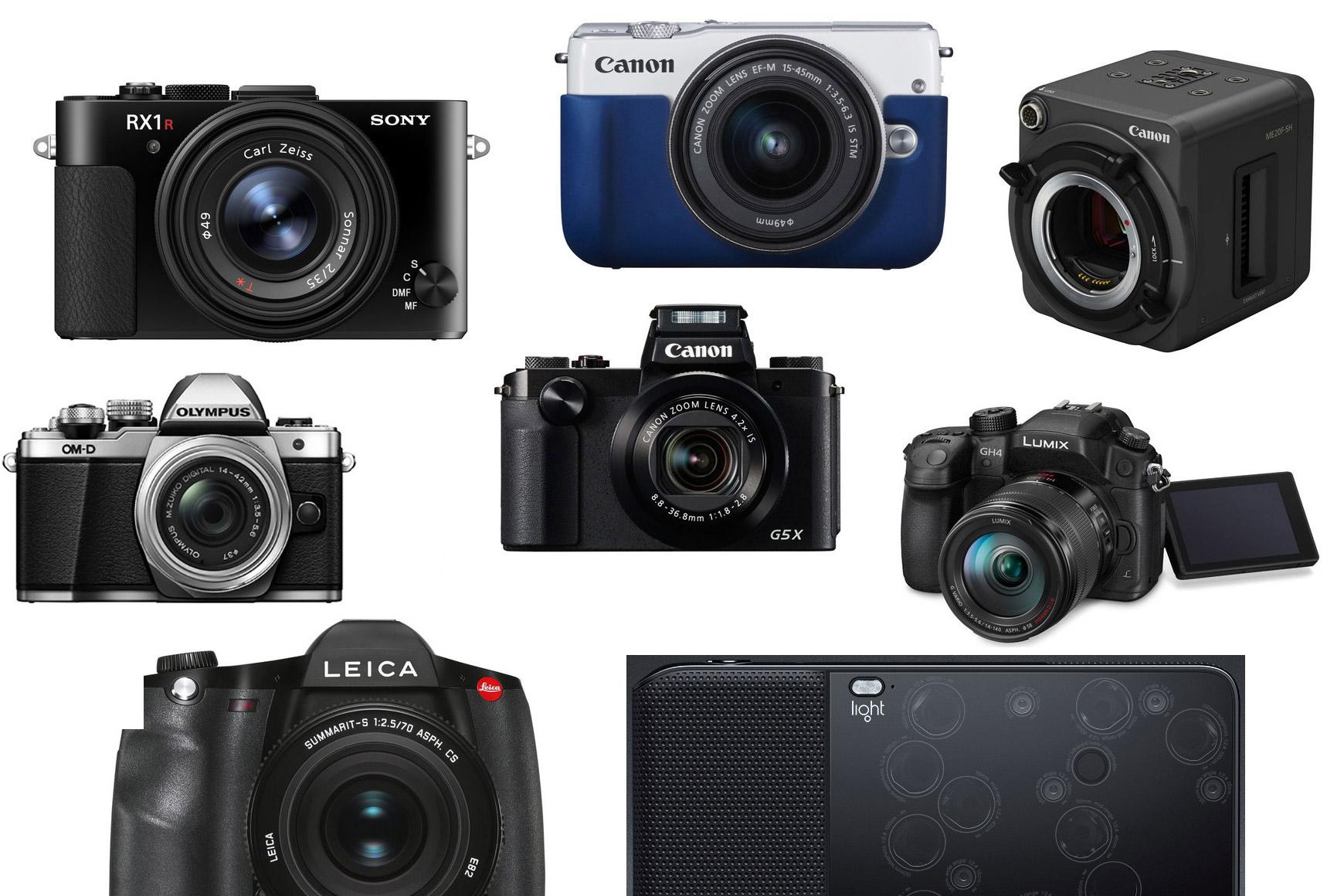 Technische round up: camera's