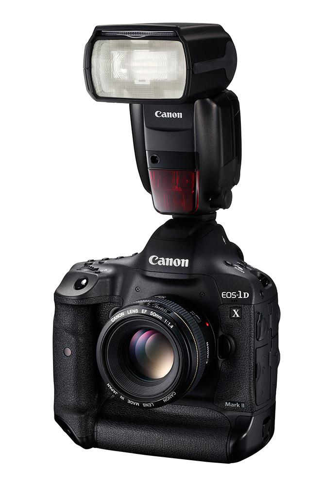 Nieuwe flitser en microfoon van Canon