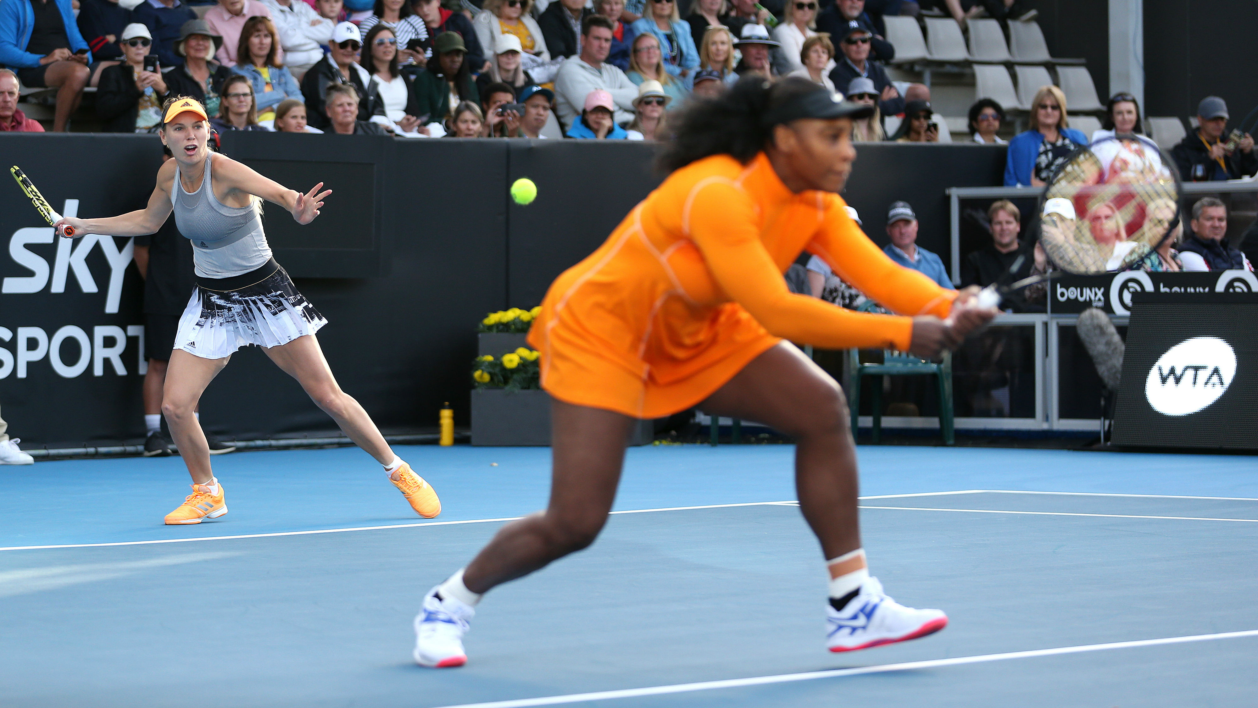 Williams Advances To Quarters In Auckland