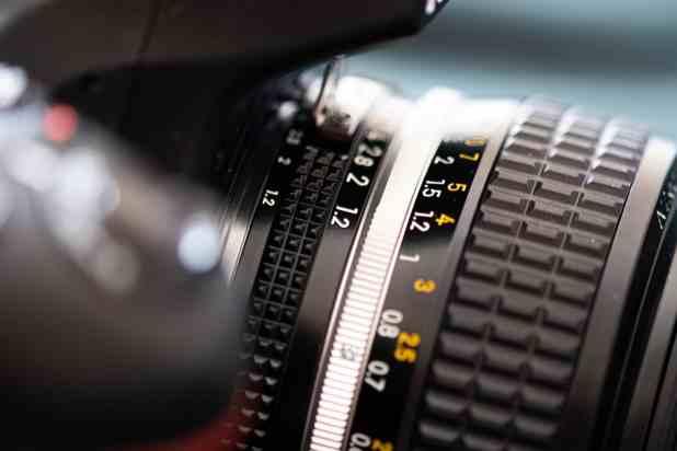 Nikkor 50mm f1.2 manual focus lens