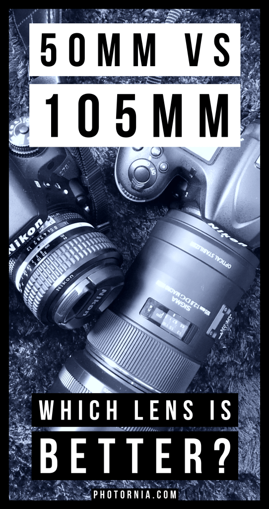 If you possess or tried multiple prime lenses, the first thing you notice is that there is a great diversity in focal lengths, and the topic of today would be comparing a 50mm lens and a 105mm lens, trying to figure out which one is better overall. It happens for me to own and main them both, therefore the question is: Which lens is better? A 50mm lens or 105mm lens?  #photography #phototips #photoguide #lenses #50mm #105mm