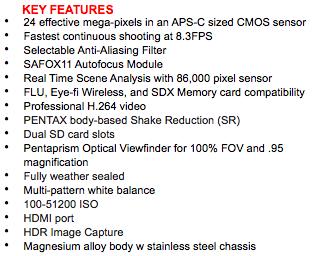 Pentax-K-3-Prestige-Edition-DSLR-camera-key-features