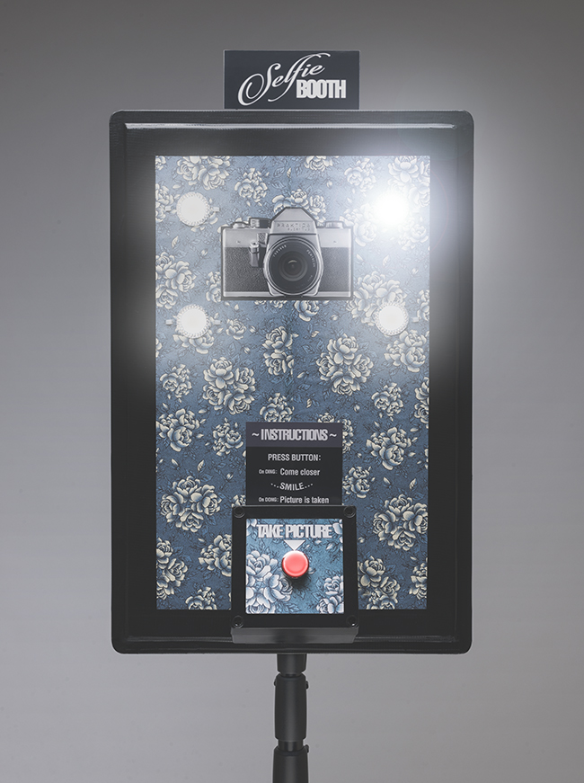 photo booth with a gopro hero camera