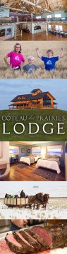 Coteau des Prairies Lodge Vertical Web Banner Ad