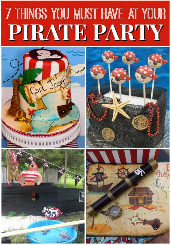 7 Things You Must Have At Your Pirate Birthday Party Catch My Party