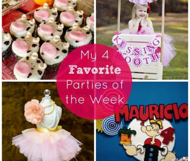 My 4 Favorite Parties Of The Week From Catchmyparty Com