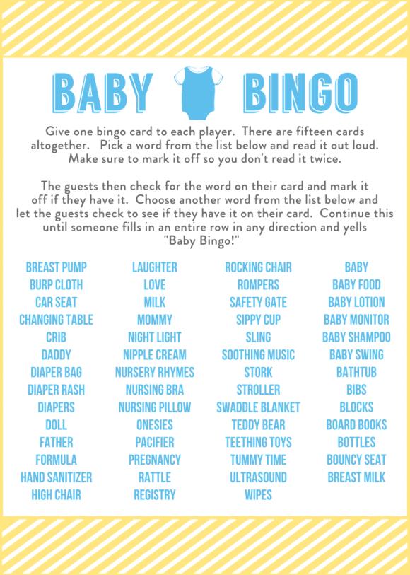 Baby Boy Word Scramble Answers