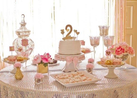 12 Must See Pink And Gold Parties Catch My Party