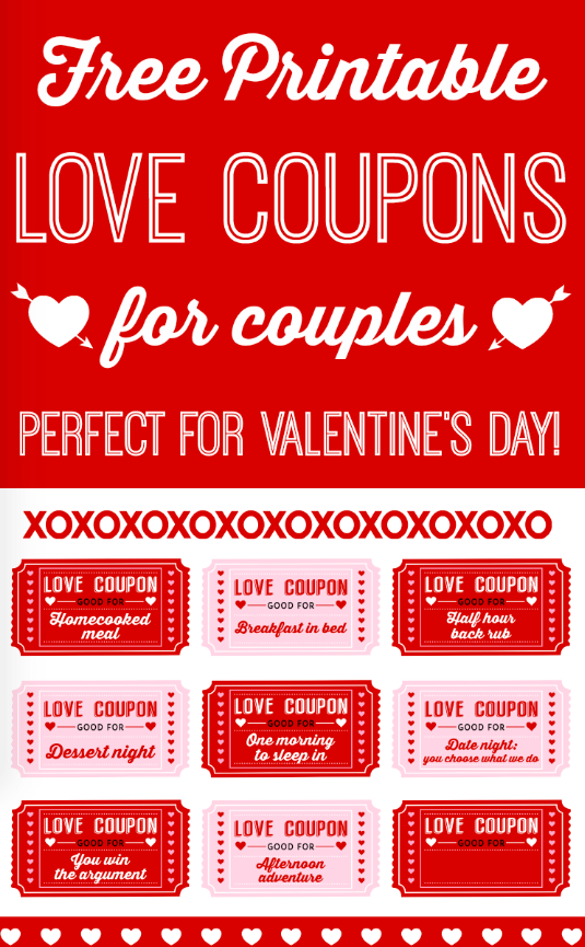 Free Printable Romantic Valentines Day Signs Catch My Party