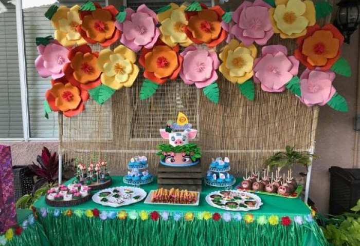 12 Must See Moana Dessert Tables Catch My Party