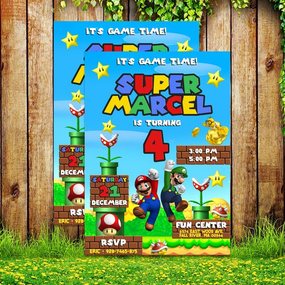 awesome super mario party supplies