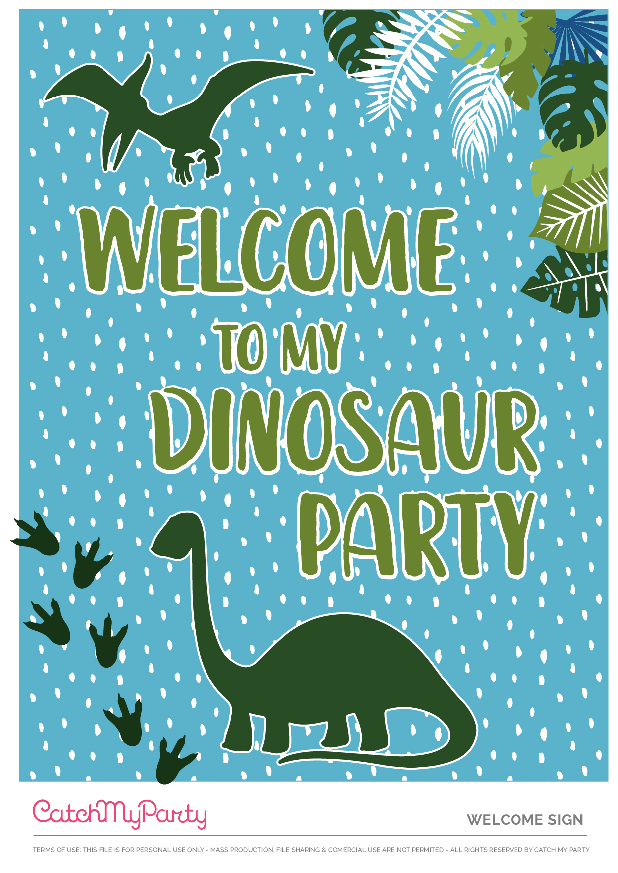Download These Free Dinosaur Birthday Party Printables Now