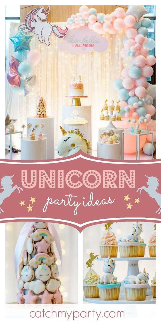 Fiesta de cumpleaños de unicornio