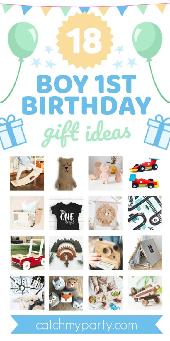 Check Out These 18 Awesome Boy First Birthday Gift Ideas Now Catch My Party