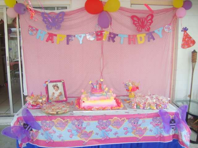 Abby Cadabby Birthday Party Ideas Photo 7 Of 16 Catch My Party