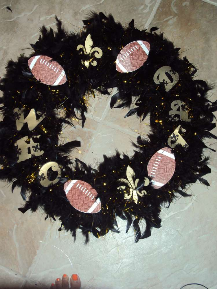 New Orleans Saints Birthday Party Ideas Photo 2 Of 28