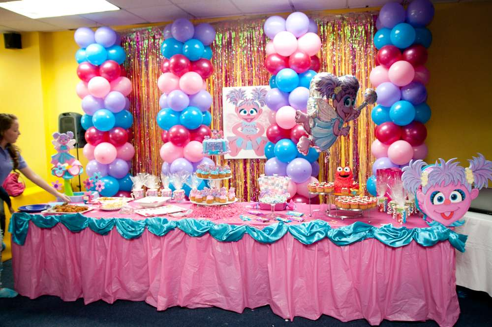 Abby Cadabby Party Birthday Party Ideas Photo 13 Of 56 Catch My Party