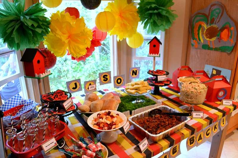 Backyard Picnic Welcome Home Party Ideas Photo 6 Of 14 Catch My Party