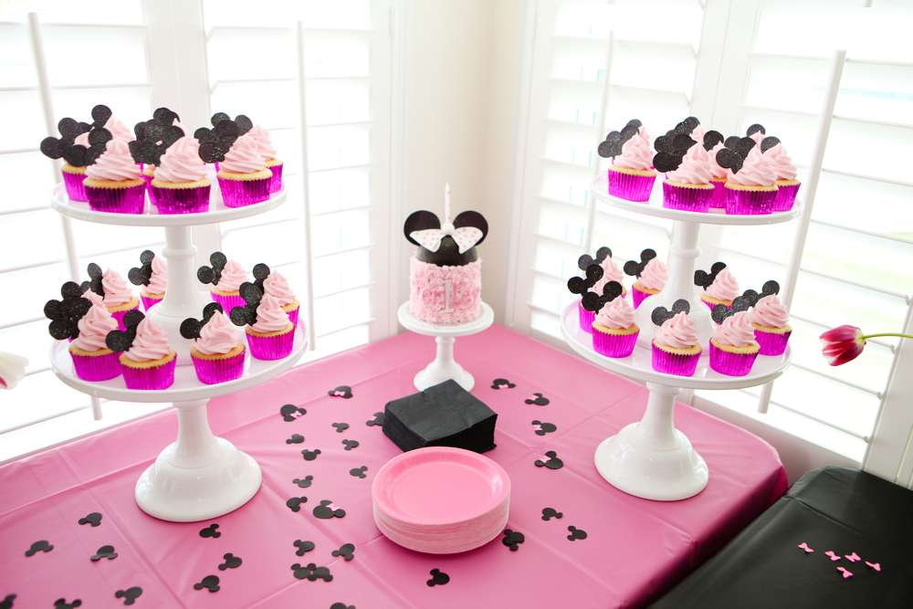 Mickey Minnie Mouse Party Birthday Party Ideas Photo 8 Of 24 Catch My Party