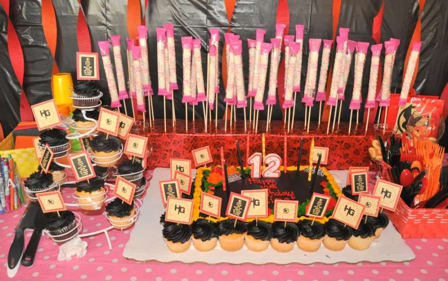 Hunger Games Birthday Party Ideas   Photo 6 of 13   Catch My Party Melina s 12th Birthday