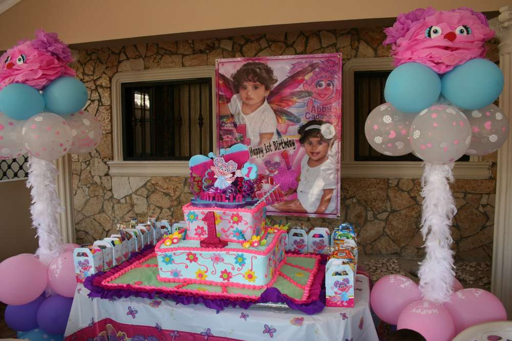 Abby Cadabby Birthday Party Ideas Photo 1 Of 26 Catch My Party