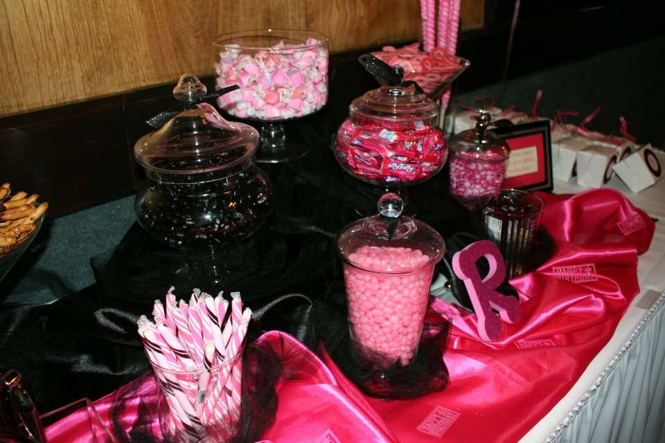 Pink & Black Birthday Birthday Party Ideas