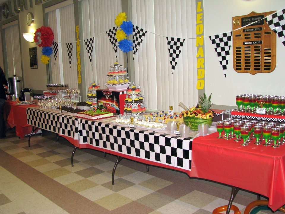 Inspired By The Cars Movie Birthday Party Ideas Photo 2 Of 22 Catch My Party