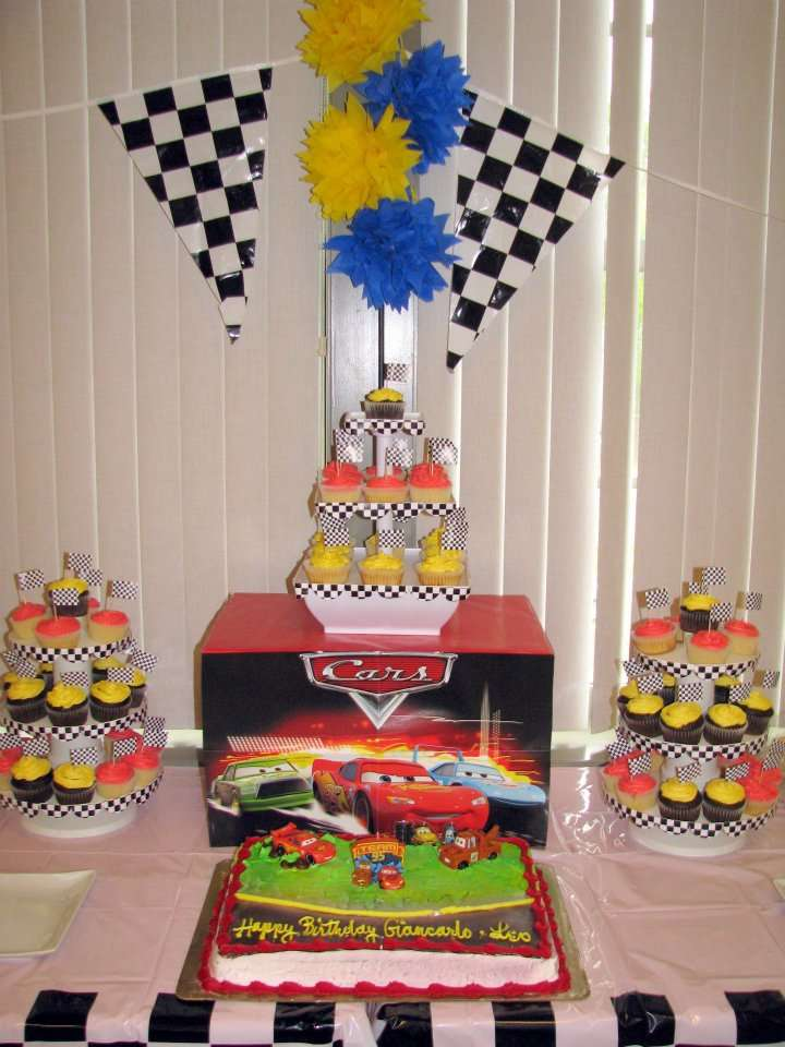 Inspired By The Cars Movie Birthday Party Ideas Photo 22 Of 22 Catch My Party