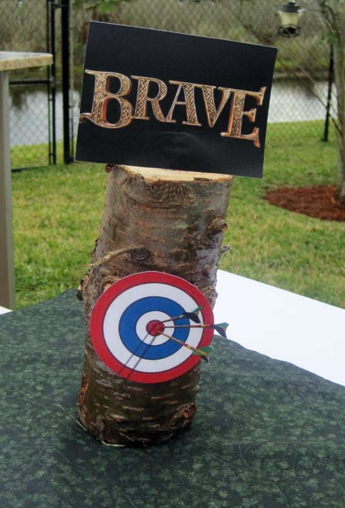 Disney Movie Brave Party Birthday Party Ideas Photo 17 Of 27 Catch My Party