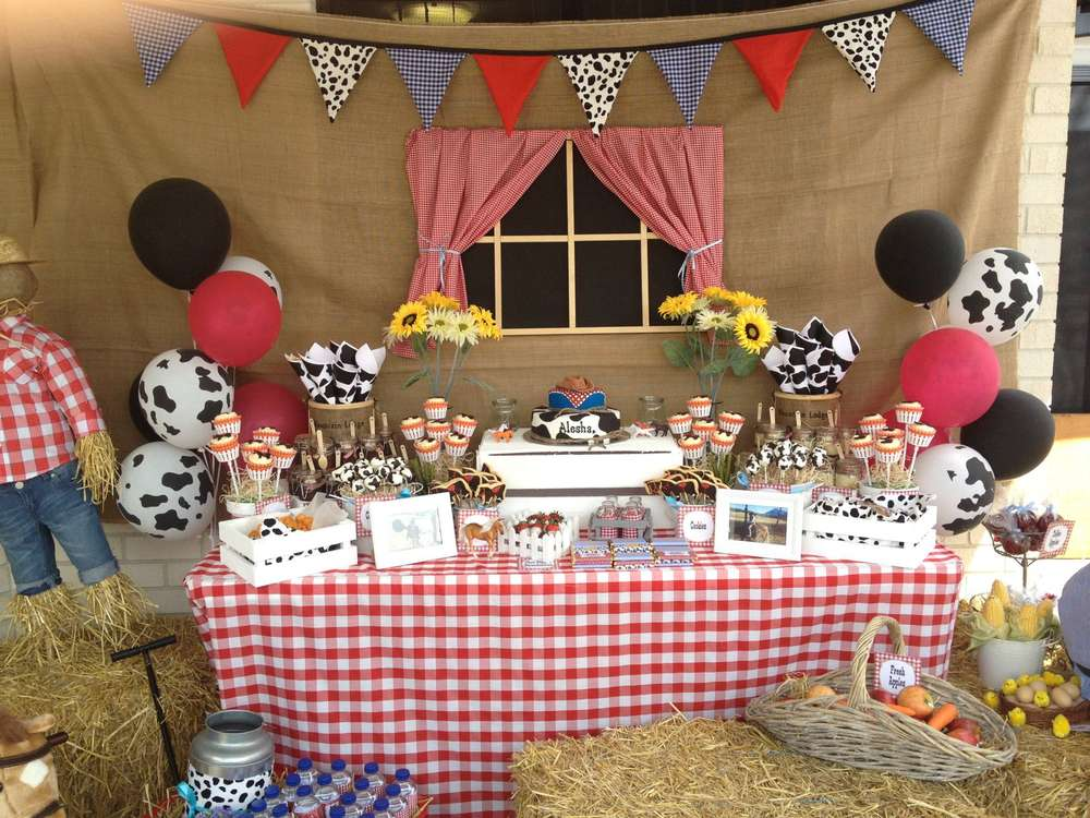 Western Theme Birthday Party Ideas Photo 5 Of 7 Catch My Party