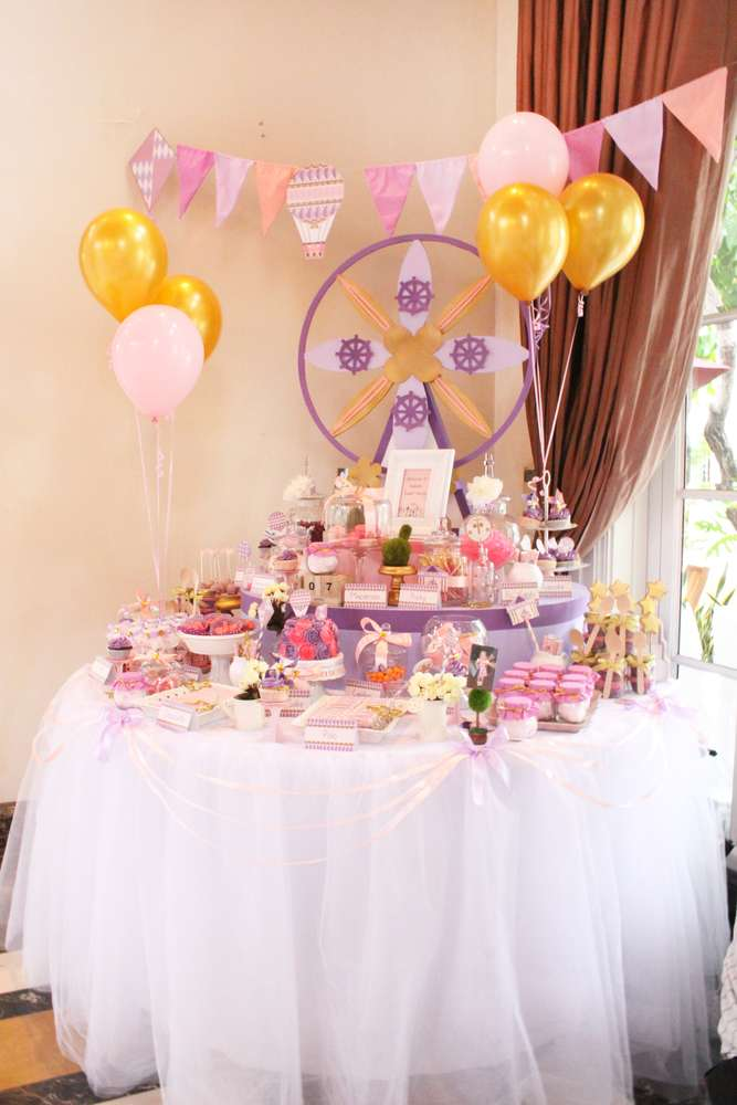 It S A Small World Birthday Party Ideas Photo 1 Of 7
