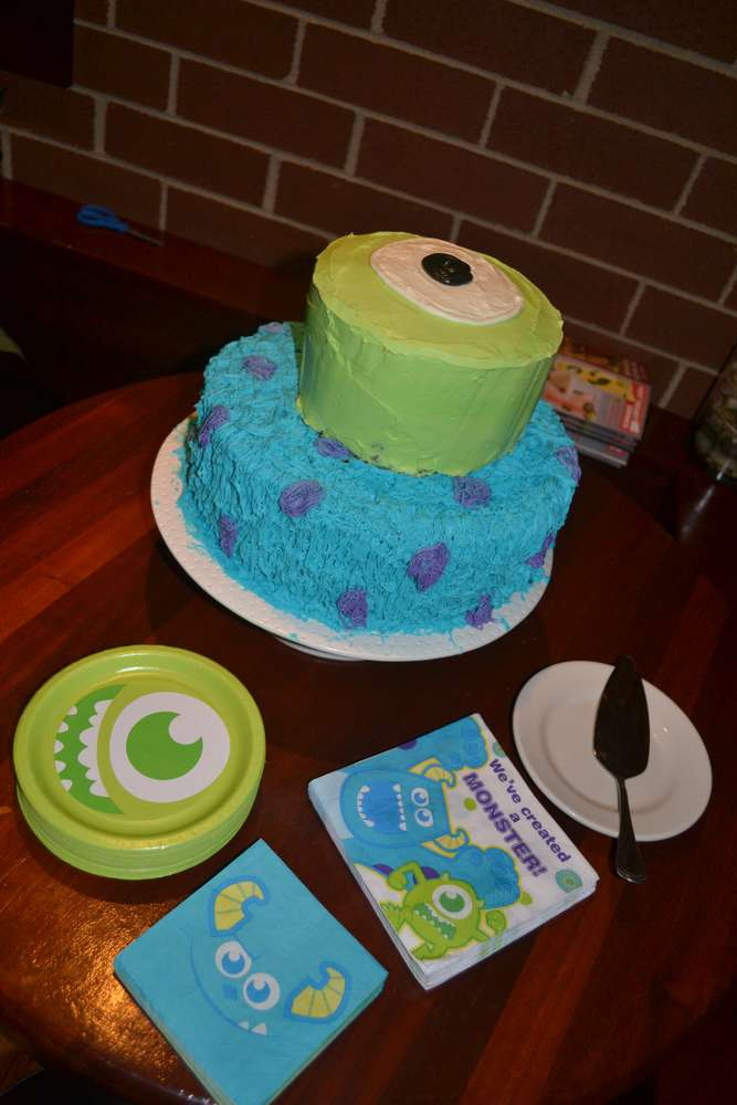 Monster S Inc Baby Shower Party Ideas Photo 7 Of 27