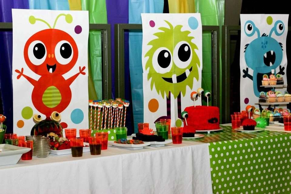 Little Monster Bash Birthday Party Ideas Photo 1 Of 33 Catch My Party