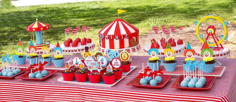 Carnival Circus Birthday Party Ideas Photo 1 Of 25 Catch My Party