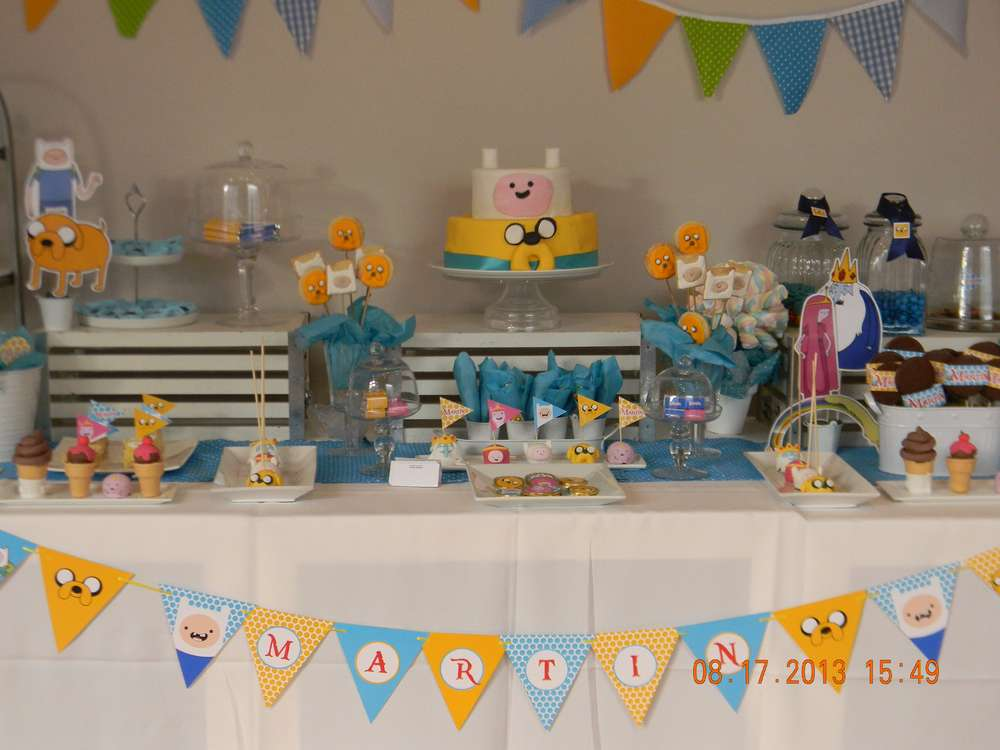 Adventure Time Birthday Party Ideas Photo 18 Of 35 Catch My Party