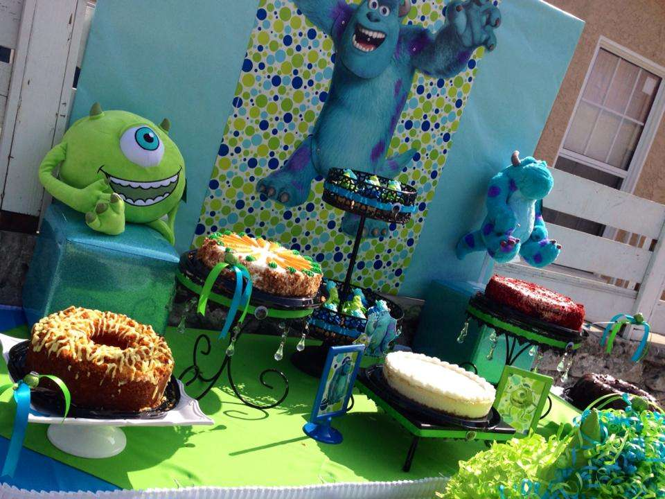 Monster S Inc Birthday Party Ideas Photo 9 Of 16 Catch My Party