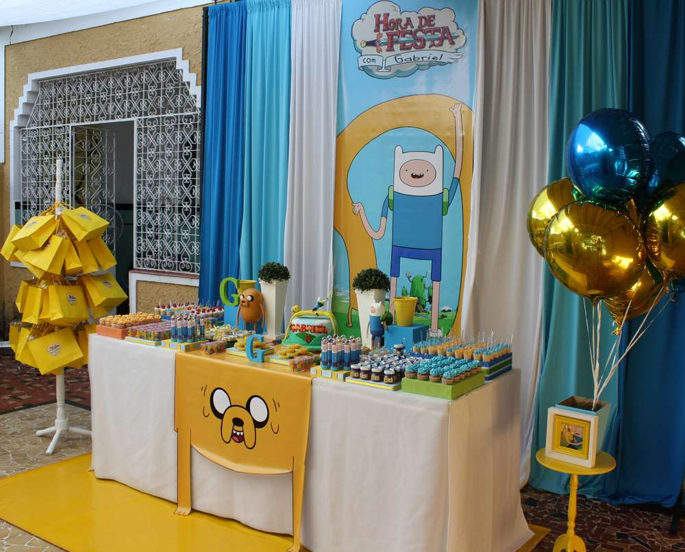 Adventure Time Birthday Party Ideas Photo 1 Of 21 Catch My Party