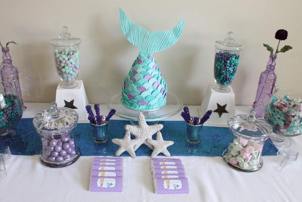 mermaid birthday party ideas photo 2