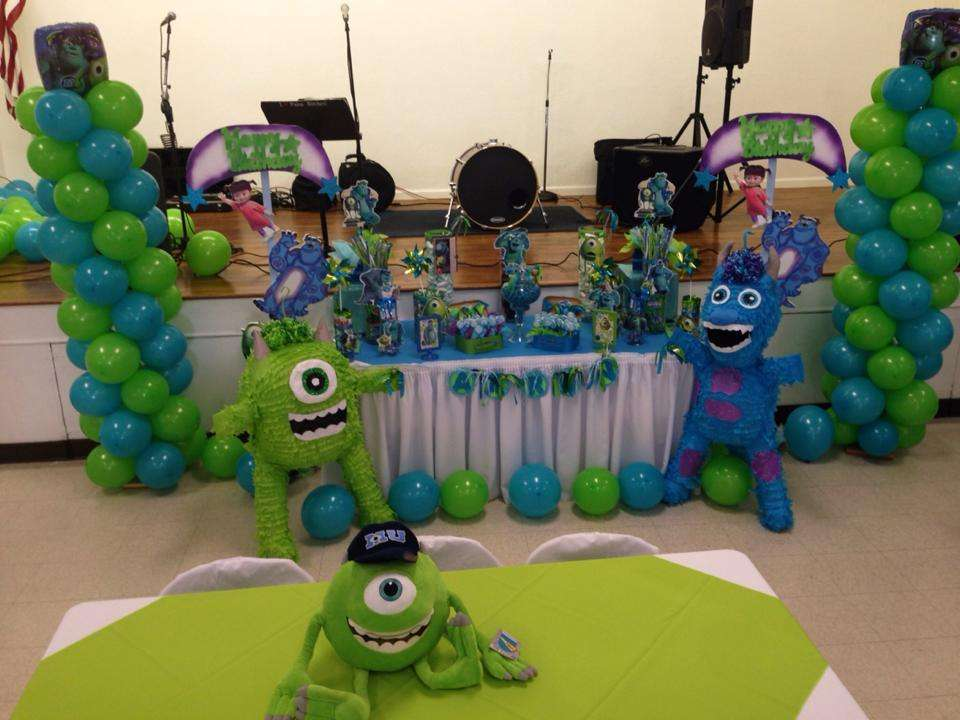 Monster S Inc Birthday Party Ideas Photo 8 Of 17 Catch My Party