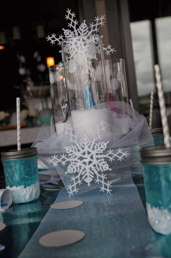 DISNEYS FROZEN Birthday Party Ideas Photo 1 Of 36