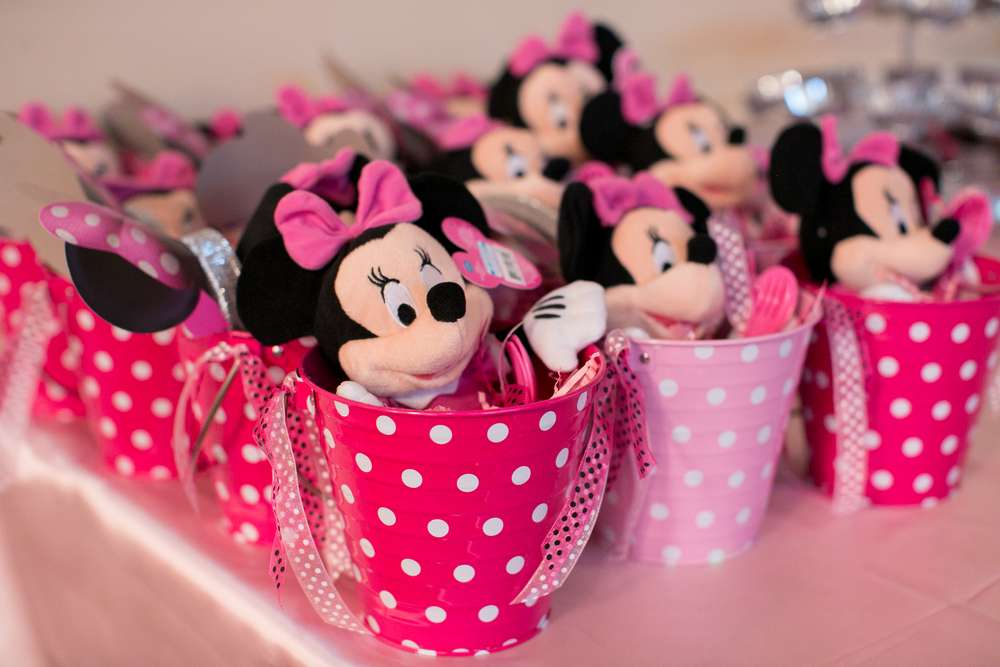 Minnie Mouse Birthday Party Ideas Photo 3 Of 10 Catch My Party