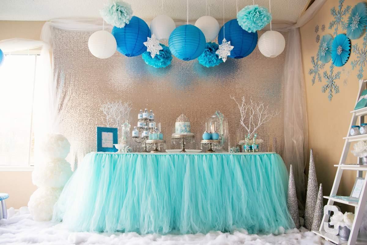 Frozen Disney Birthday Party Ideas Photo 1 Of 40 Catch My Party