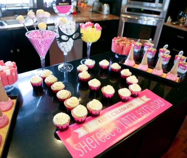 Girl Superhero Shereses 10th Birthday Party