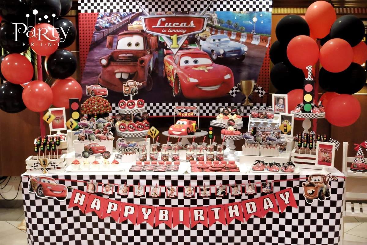 Cars Disney Movie Birthday Party Ideas Photo 5 Of 23 Catch My Party